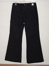 Mossimo premium navy flare denim jeans womens size 4 30 w x 30 l in Chicago, Illinois