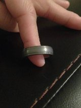 Men's Silver Toned Wedding Band Tungsten Ring - sz 11 *NEW* in Camp Lejeune, North Carolina