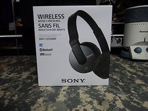 Sony Wireless Noise Cancelling Bluetooth Headset Black MDR-ZX550BN SS 228 in Fort Carson, Colorado