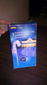 candy cane lights 3 pack Priced reduced 30% to just $7 in Elizabethtown, Kentucky