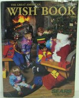 Vintage Sears Christmas Catalog 1992 Wish Book Wishbook Toys Catalog in Glendale Heights, Illinois