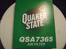 ac delco a1284c air filter ; quaker state qsa7365   air filter, federated af993f in Schaumburg, Illinois