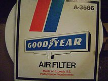 ac delco a855c air filter ; goodyear a-3566 air filter, federated af834f in Schaumburg, Illinois