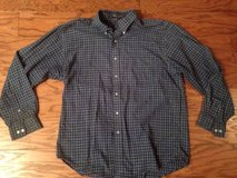 Men's Blue Plaid Wrinkle Free Van Heusen Shirt - sz 16-16.5 in Camp Lejeune, North Carolina