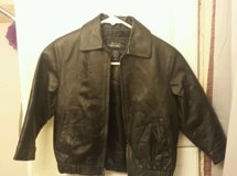 youth cherokee leather jacket black xs new w/o tags! in Fort Irwin, California