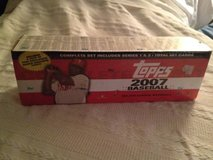 Factory sealed 2007 Topps Baseball Set in Dover AFB, Delaware
