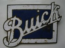 1920's Enamel/Buick Radiator Badge in Los Angeles, California