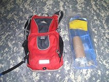 High Sierra Red Camelback with Bladder / Camelbak Cleaning Kit ss 142 in Huntington Beach, California