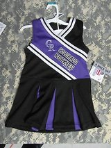 MLB Colorado Rockies Baseball Girls Creeper, Two Piece Cheerleader Outfit jr 725 in Fort Carson, Colorado