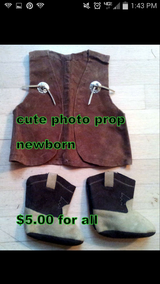 Baby Cowboy Photo Prop in Cherry Point, North Carolina