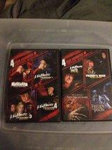 Hell raiser and nightmare on elm street dvd bundle in San Diego, California