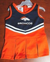 Authentic NFL Denver Broncos Girls Baby Cheerleader All Baby Sizes NWT & Bow in Huntington Beach, California