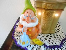 "New Disney Snow White Garden Gnomes- ""DOC"" !  Too Cute!  6"" in Bellaire, Texas"