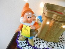 """New Disney Snow White Garden Gnomes- """"HAPPY"""" !  Too Cute!  6"""" in Bellaire, Texas"""