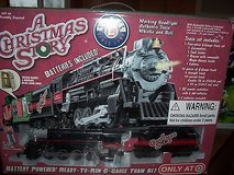 lionel - a christmas story- battery powered g-gauge train set - nib in Glendale Heights, Illinois