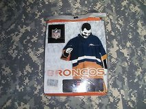 NFL Denver Broncos Official Team Poncho Unisex One Size Fits All SS 151 in Huntington Beach, California