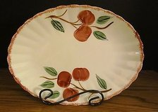 Blue Ridge Platter in Candlewick Shape Crab Apple Pattern in Chicago, Illinois
