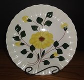 Blue Ridge Platter in Colonial Shape Yellow Daisy or Nocturne Pattern in Chicago, Illinois