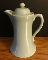 Hand Painted Japan Chocolate Pot with Lid Light Mint Green in Naperville, Illinois
