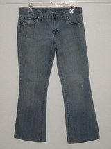 Aamerican Eagle hipster skinny flare lightly distressed jeans size 6 31 w x 28 l in Morris, Illinois