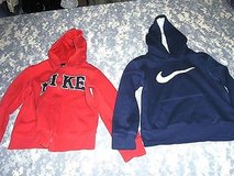 Nike Boys Hoodie Set of 2 Red / Blue Size 7 ss 125 in Huntington Beach, California