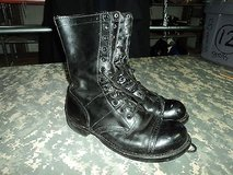 Mens Corcoran Black Leather Combat / Jump Boots Size 9 ss 201 in Huntington Beach, California