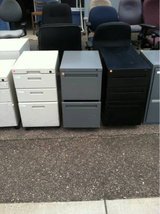 Small 2 and 3 drawer File Cabinets in Fort Carson, Colorado