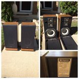 2 Vintage FISHER STV-410M Floor Speakers in Chicago, Illinois