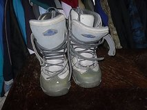 Airwalk Mens Snowboard Snowboarding Boots Gray SIZE 8 SS 333 in Huntington Beach, California