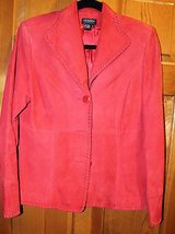 Julianna Collezione Vintage Suede Lined Blazer, Small in Aurora, Illinois