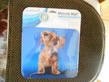 New HAND STANDS Deluxe Mouse Mat / Pad-  Dog with Earplugs!  Mint in Orig Pkg! in Houston, Texas