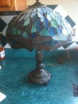 Stained glass table lamp in Plainfield, Illinois