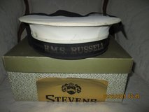 British Naval Hat/w box REDUCED in Cherry Point, North Carolina