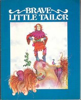 RARE Vintage 1979 The Brave Little Tailor Book & Record Set in Morris, Illinois