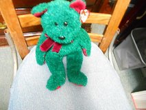 """14""""  TY Beanie Buddy """"2001 HOLIDAY TEDDY""""!  Swing & Tush Tags in Good Condition in Houston, Texas"""