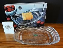 """Shannon Crystal Bread Tray """"Give Us This Day Our Daily Bread"""" in Batavia, Illinois"""