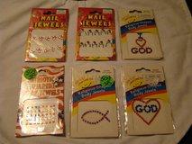 Nail and body jewels (new in sealed wrapper) in Camp Pendleton, California