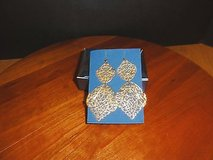Avon Bold Filigree Earrings Goldtone in Chicago, Illinois