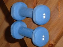 Pair of Two pound Each dumbbells in Fort Bragg, North Carolina