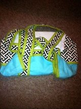new hoohobbers tote diaper bag  maze black &  teal in Kingwood, Texas