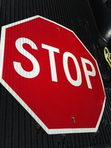 Stop Sign -Alumn  Metal Reflective in Cherry Point, North Carolina