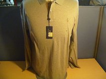 Polo By Ralph Lauren Long Sleeve XL Extra Large Color Gray New With Tags in Huntington Beach, California