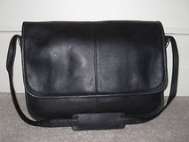 black leather computer/laptop messenger bag in Fort Leonard Wood, Missouri