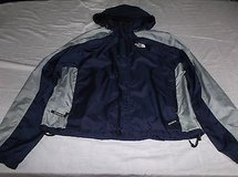 The North Face Mens Hooded Windbreaker Jacket Blue/Gray Size Large 8063 in Huntington Beach, California