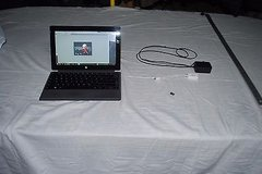 Pre-Owned Surface Pro Tablet W/ 24W Charger,Power Cover, Wacom Stylus 128GB 1051 in Fort Carson, Colorado