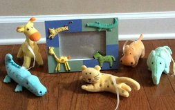 Animal picture frame in Fort Campbell, Kentucky