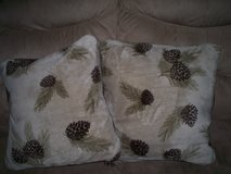 2 pc Pillow Set - Pine Cones in Cherry Point, North Carolina