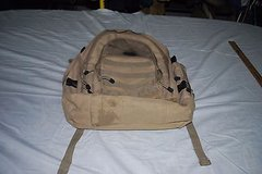 Bug Out Gear Military Desert Tan / Olive 3 Day Molle Back Pack SOC 1029 in Huntington Beach, California