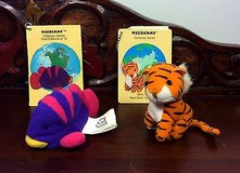 2 weebeans collectors series doll. fish & tiger.  plush beanie, animal. plush toy. in Olympia, Washington