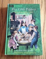 Five Little Peppers and How They Grew Hardcover Book by Margaret Sidney 1963 in Naperville, Illinois